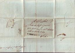 PORTUGAL - CABECEIRAS TO LISBON 1820 ENTIRE - Portugal