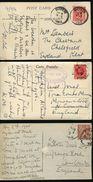 GREAT BRITAIN USED ABROAD TUNISIA PAQUEBOT MARITIME 1914/1936 ATLANTIS - 1902-1951 (Kings)