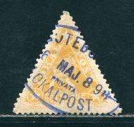 SWEDEN GOTEBORG CITY POST TRIANGULAR STAMP 1898 - Sweden
