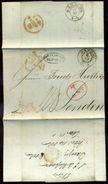 DANZIG/LONDON 1844 FINE ENTIRE LETTER - Germany