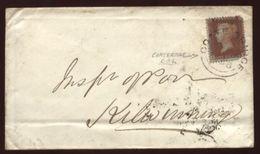 GB - 1856 COATBRIDGE,SCOTLAND-KILWINNING' COVER - Postmark Collection
