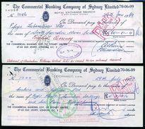 KENYA/GB/AUSTRALIA 1969 LIONS - Old Paper