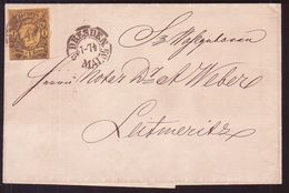 GERMANY/SAXONY 1859 COVER - Germany