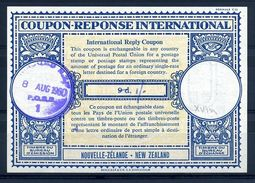 NEW ZEALAND 1960 INTERNATIONAL REPLY COUPON - Unclassified