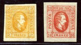 ROMANIA 1865 2 AND 20 PARALE - Romania
