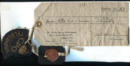GB POST OFFICE STORES TELEGRAPHS BADGE INSIGNIA 1934 - Great Britain