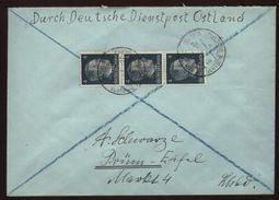 BELARUS/OSTLAND/WW11 DIENSPOST COVER - Belarus