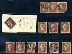 GB LINE ENGRAVED 1841 RED-BROWN SELECTION 1 - 1840-1901 (Victoria)