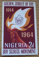 NIGERIA BOY SCOUTS 1964 ORIGINAL ARTWORK - Nigeria (1961-...)