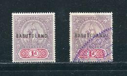 CAPE OF GOOD HOPE BASUTOLAND REVENUES 1901 - Basutoland (1933-1966)