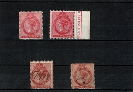 MONTSERRAT VICTORIA 1866 REVENUE NUMBER ONE HARRISON - Montserrat