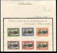 COSTA RICA 1947 COLUMBUS AT CARIARI AIR MUESTRA WATERLOW SPECIMENT - Costa Rica