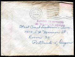USA FIRE OFFICIAL RAILWAY RAILROAD OREGON 1960 COCKEYSVILLE - Postal History