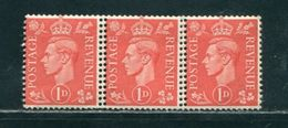 GB GEORGE 6TH VARIETY DOUBLE PERFORATIONS 1941 - 1902-1951 (Kings)
