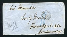 GREAT BRITAIN FRANCE GERMANY CRIMEAN WAR 1856 BRITISH ARMY FRENCH NAVY - Postmark Collection