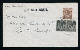 SINGAPORE MALAYA FIRST AIRMAIL FLIGHT 1926 SEAPLANE -2 - Singapore (...-1959)