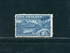 NEW ZEALAND 1903 LAKE WAKATIPU BLACK BARS POSTMASTER GENERAL - Unclassified