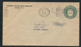 PANAMA POSTAL STATIONERY 1926 EAGLE BIRD GAS - Panama