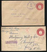 PANAMA 1924 POSTAL STATIONERY AMERICAN BANKNOTE EAGLE BIRD DAVID - Panama