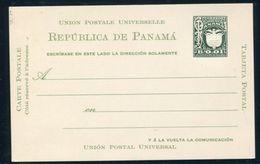 PANAMA POSTAL STATIONERY BIRD 1929 NATIONAL ARMS B0.01 - Panama