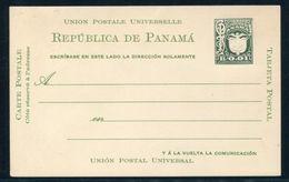 PANAMA POSTAL STATIONERY BIRD 1929 NATIONAL ARMS EAGLE B0.01 - Panama