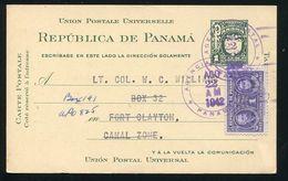 PANAMA POSTAL STATIONERY CANAL ZONE KODAK PHOTOGRAPHY CANCER CURIE 1942 - Panama