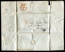 GREAT BRITAIN 1831 PRINTED REPORT BRIGHTON SUSPENSION PIER EDINBURGH - Postmark Collection