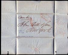 GREAT BRITAIN TRANSATLANTIC STEAMER MARITIME UNITED STATES INDIAN CORN 1846 - Morocco (1956-...)