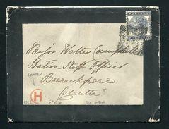 GREAT BRITAIN VICTORIA LONDON INSPECTORS MARK INDIA SEA POST OFFICE 1882 - Postmark Collection