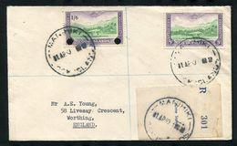 COOK ISLANDS MANIHIKI REGISTERED COVER 1960 - Cook Islands