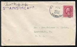 US POSSESSIONS AMERICAN SAMOA PACIFIC SWAINS ISLAND TOKELAU 1931 - Postal History