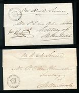 SOUTH AFRICA CAPE 1820-1840 ON SERVICE CROWN HANDSTAMPS - South Africa (...-1961)