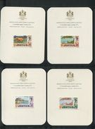GREAT BRITAIN JERSEY CHANNEL ISLANDS HARRISON IMPERF PRESENTATION CARDS - Regional Issues