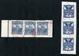 CZECHOSLOVAKIA 1920/26 CASTLE BIRD SPECIMEN - Czech Republic