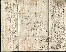 GREAT BRITAIN 1839 INSPECTORS MARKS LIVERPOOL EDINBURGH - Postmark Collection