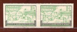 PANAMA CHILDREN MAJOR VARIETY 1959 AND SHIFT OF GREEN - Panama
