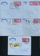 GREAT BRITAIN STATIONERY RAILWAY TALYLLYN AIRLETTER AND OTHER POSTMARKS - Great Britain