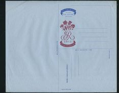 GREAT BRITAIN 1953 CORONATION PROOF AIR LETTER STATIONERY QEII - Great Britain