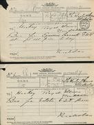 GREAT BRITAIN OHMS STATIONERY ROYALTY HORSE WINDSOR ROYAL MEWS 1897 - Postmark Collection