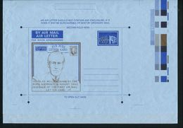 GUERNSEY STATIONERY AIR LETTER DOUGLAS GUMBLEY DESIGNER FIRST AIR LETTER IRAQ - Regional Issues