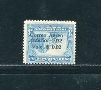 NICARAGUA AIRMAIL INVERTED OVERPRINT 1931 - Nicaragua