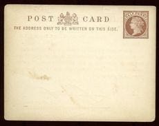 GB POSTAL STATIONERY QV ADVERTISING EXHIBITION - Postmark Collection