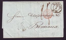 DANZIG/FRANCE/BORDEAUX 1851 - Germany
