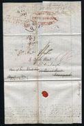 USA BOSTON NY SHIP LETTER GRAVESEND KENT BRITISH QUEEN UNIFORM 4d POST 1839 - Postal History