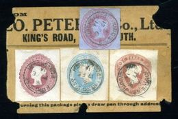 GB QV PORTSMOUTH SUPERB POSTAL STATIONERY STAMPS - 1902-1951 (Kings)