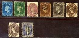 CEYLON 1861-4 SUPER SELECTION - Ceylon (...-1947)