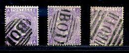 EGYPT/ GB USED ABROAD 1867-70 - 1840-1901 (Victoria)