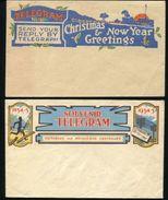 AUSTRALIA VICTORIA MELBOURNE 1935 TELEGRAMS POSTAL STATIONERY - Postmark Collection