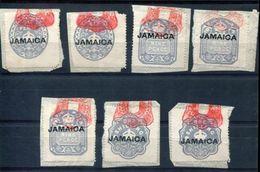 JAMAICA REVENUES OVERPRINTS 1903/1904 - Jamaica (...-1961)