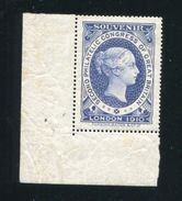 GREAT BRITAIN PHILATELIC CONGRESS PERKINS BACON LONDON 1910 - 1902-1951 (Kings)